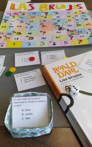 El juego de Las brujas de Roald Dahl